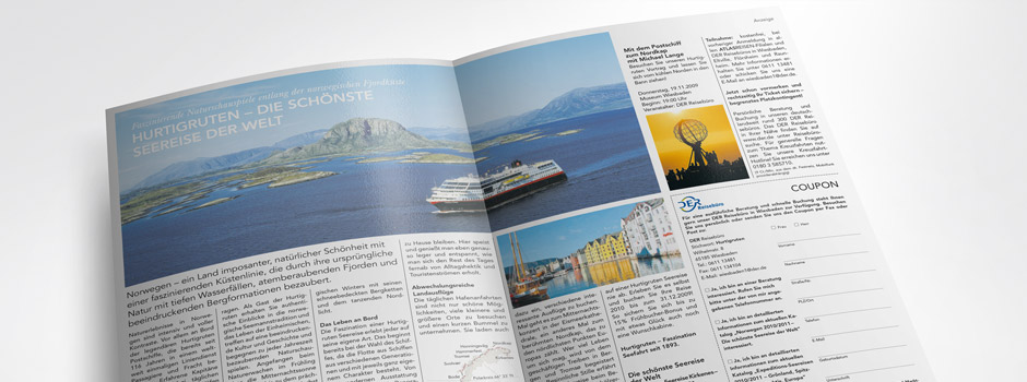 Advertorial Hurtigruten
